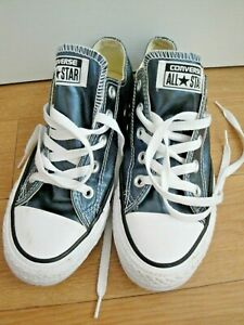 CONVERSE TRAINERS SIZE 4 EU 36.5 LADIES GIRLS ALL STAR CTAS OX 157662C