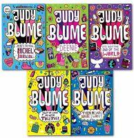 Judy Blume Children Collection 5 Books Set Deenie, Then Again Maybe I Wont