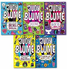 Judy Blume Children Collection 5 Books Set Deenie, Then Again Maybe I Wont