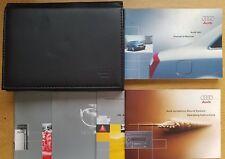 GENUINE AUDI A4 B6 HANDBOOK OWNERS MANUAL WALLET 2000-2004 PACK C-154 !