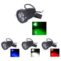 S6 3 LED Foco sumergible del jardin / cesped / paisaje luz del piso Lampara impe