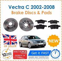 For Vauxhall Vectra C 2002-2008 Rear Brake Discs 278mm & Brake Pads Set New