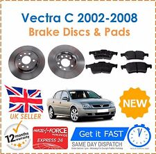 For Vauxhall Vectra C 2002-2008 Rear Brake Discs 278mm & Brake Pads Set New