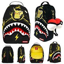 Sprayground Pikachu Shark Backpack/Laptop Bag Pokemon Limited Edition Merch