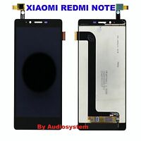 DISPLAY LCD +TOUCH SCREEN per XIAOMI REDMI NOTE 1 NERO VETRINO 5,5 BLACK MIUI