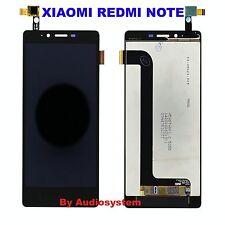 DISPLAY LCD +TOUCH SCREEN per XIAOMI REDMI NOTE 1 NERO VETRINO 5,5 BLACK MIUI