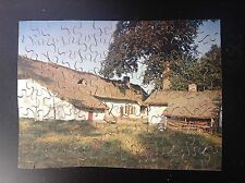 Rare Puzzle du Timbre Tintin COMPLET TBE