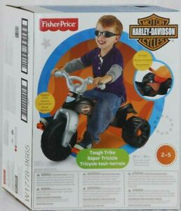 Fisher Price Motorcycle Pedal Powered Tricycle Tiker Bike With Storage Toddlers