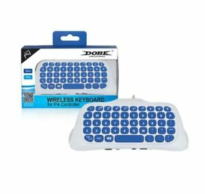 Wireless Controller Keyboard Game Chatpad For PS4 / PS4 Pro / PS4 Slim