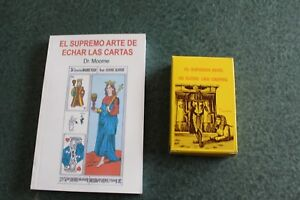 TAROT EGIPCIO book + JGO de CARTAS DR. MOORNE deck libro edicion de lujo
