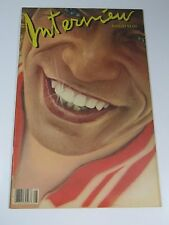 Interview magazine-1981 Mick Jagger Rolling Stones-Andy Warhol-AMAZING COND!