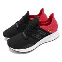 New Balance Fresh Foam ROAV Black Red NB Mens Running Shoes MROAVLE D