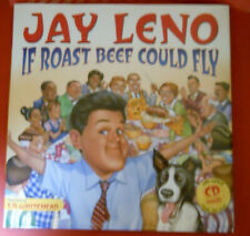 Jay Leno If Roast Beef Could Fly Children's Hardback Book and Cd 1st Edition