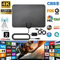 Antenne télévision numérique HDTV HD Signal TNT aérien amplifié USB intérieur DE