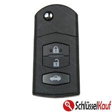 MAZDA Klappschlüssel 3 Tasten Gehäuse 3 5 6 MX5 RX8 CX-5 CX-7 CX-9 Fernbedienung