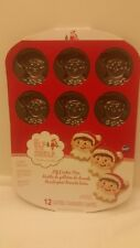Wilton The Elf On The Shelf Cookie Pan Mold 12 Cavities New Holiday Christmas