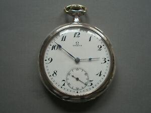 OMEGA , TU von 1916, Silber 0.800, neu überholt, TOP