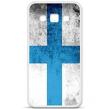 Coque housse étui tpu gel motif drapeau Marseille Samsung Galaxy A5