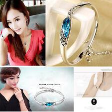 Hot Sale Romantic Jewelry Women Crystal Bracelet Vintage 925 Silver Bracelet