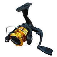 Ultra-light 3BB Bearing Spinning Fishing Reel High Speed Gear Black Gold Fine