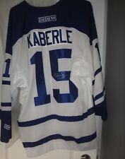 Thomas Kaberle Autographed Toronto Maple Leafs CCM NHL Hockey Jersey Men's XL