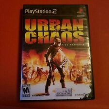 Urban Chaos: Riot Response for the Playstation 2! Used rental, works great!!