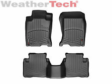 WeatherTech Floor Mats FloorLiner for Honda Crosstour - 2010-2015 - Black