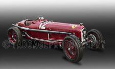 1934 Alfa Romeo P3 Vintage Classic Race Car Photo CA-1316