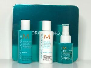 Moroccanoil SET x3 Repair Shampoo + Hydro Conditioner + Color Complete Spray Box