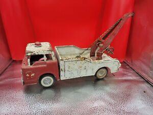 Vintage Nylint Hi-Way Emergency Tow Truck Ford Parts or Repair
