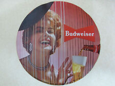 Budweiser Beer Revolving Pocket Watch Clock Photo Transparency
