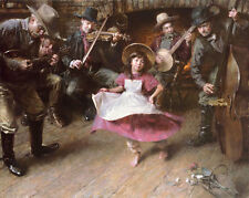 Morgan Weistling THE DANCE giclee paper, music #250/250