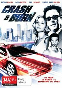 Crash And Burn DVD - Crime Action Movie Erik Palladino, Michael Madsen NEW