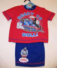 Thomas The Tank Boys Red Blue Pyjama Set Size 1 New