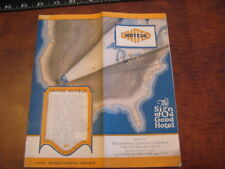 1928 United Hotels Canada Nyc Brochure Northeast