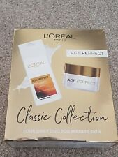 L'Oreal Paris Age Perfect Gift Set for Her 'Classic Collection' Day Cream & Milk
