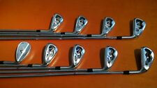 9 CALLAWAY X TOUR FORGED IRONS  3-9 PW SW STIFF Dynamic Gold S300 ExcellenT