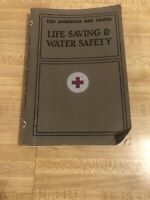The American Red Cross Life Saving And Water Safety Book 1956 Vintage