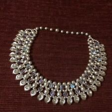 Pearl Simulated Diamond (Imitation) Costume Jewellery
