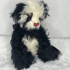 Annette Funicello Sushi Bear Mohair Jointed Panda 10 inch Box Tag Rare