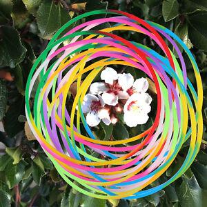 100 x Silicone Wristbands/Bracelets/Bracelet/Hairbands - Multi Color