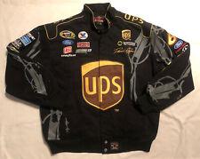 Rare David Ragan Cotton Twill NASCAR Jacket JH Design Ford Racing Large