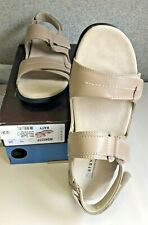 NIB Women's Aravon by New Balance KATY Sandals Shoes Taupe - Size 10  2A Narrow