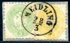 ÖSTERREICH 1863 30+31 gestempelt MEIDLING HINGUCKER (A9300