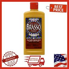 Brasso Multi-Purpose Metal Polish 8 oz Brass Copper Stainless Chrome Cleaner Top