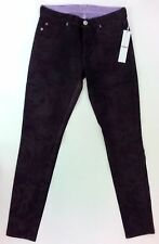 Hudson Jean Nico Mid Rise Super Skinny - Purple Rose Size 26 Factory 2nd