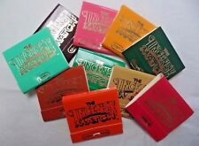 Incense Match Books: Assorted Variety Scented Matches: Lot of 10 (300 Strikes)