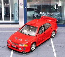 Mitsubishi Lancer Evolution VI WRC Red Car 1:43 Scale Cararama Die-cast Model