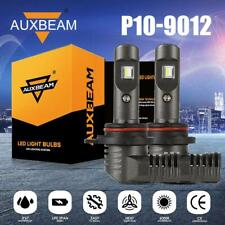 AUXBEAM 9012 Led Headlight Bulbs 7600lm Super Bright Lights HID Kit Replacement