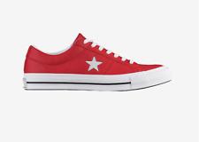 Mens Converse One Star OX Casino Red Size 11 NIB $85 158466C DB 584